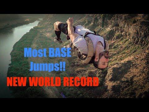 BASE Jump World Record | 4K | News
