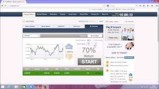 Easy binary options trading system  Live Step by Step!