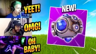 STREAMERS REACT TO NEW SHOCKWAVE GRENADE - Fortnite Best Moments & Fortnite Funny Moments #137
