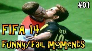 Fifa 14 fail & funny moments #01