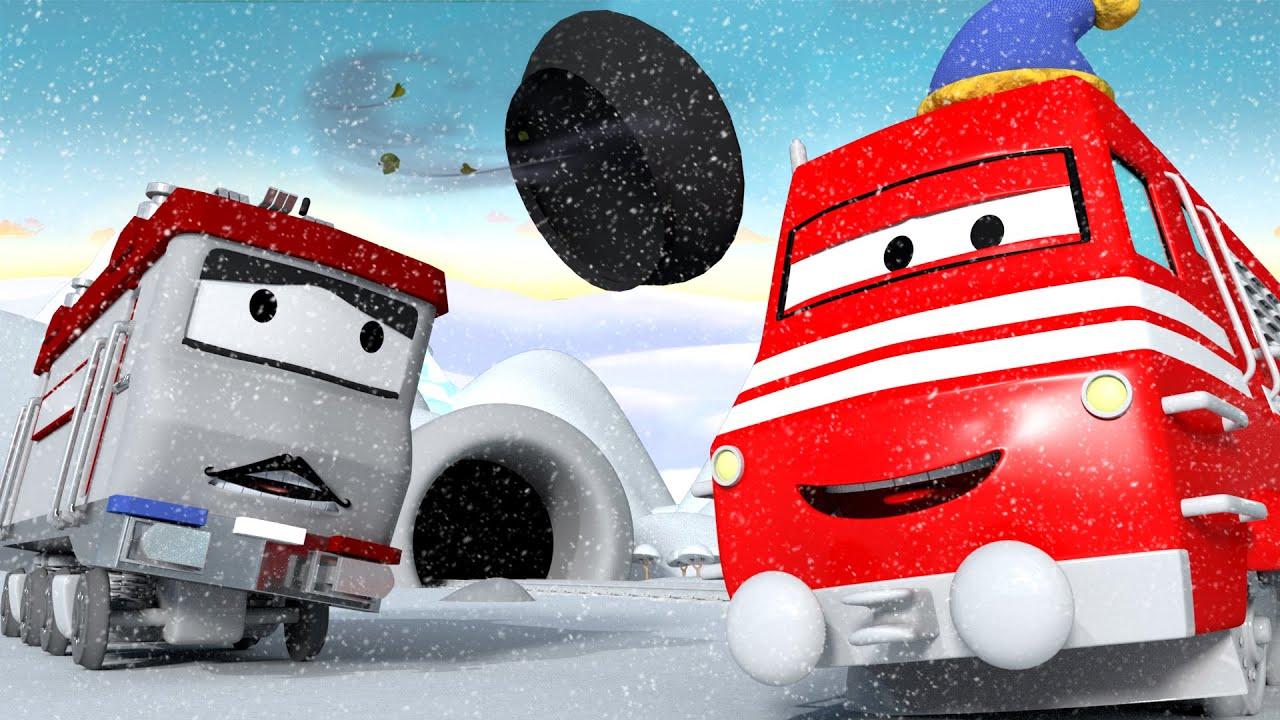 Xe lửa Troy - Troy xe lửa trượt tuyết - Thành phố xe