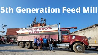 American Feed Mill Operation- Residorf Bros Inc Visit- On Tour Part 7