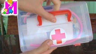Доктор Плюшева набор ветеринара волшебная аптечка играем в доктора Doc McStuffins set