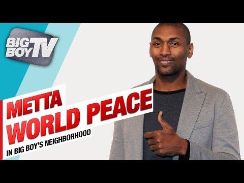 Metta World Peace on His Basketball Festival, New Book & Mental Health Awareness