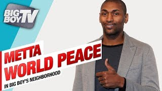 Metta World Peace on His Basketball Festival, New Book & Mental Health Awareness