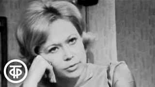Светлана Немоляева в телеспектакле по сценарию И Ольшанского Такая короткая долгая жизнь 1975
