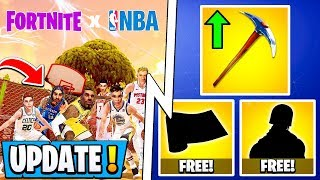 *NEW* Fortnite Update! | Free NBA Rewards, 9.10 Early Changes, Tfue!