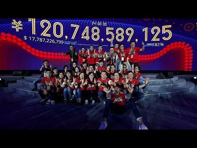 """Новый рекорд китайского интернет-гиганта """"Алибаба"""""""