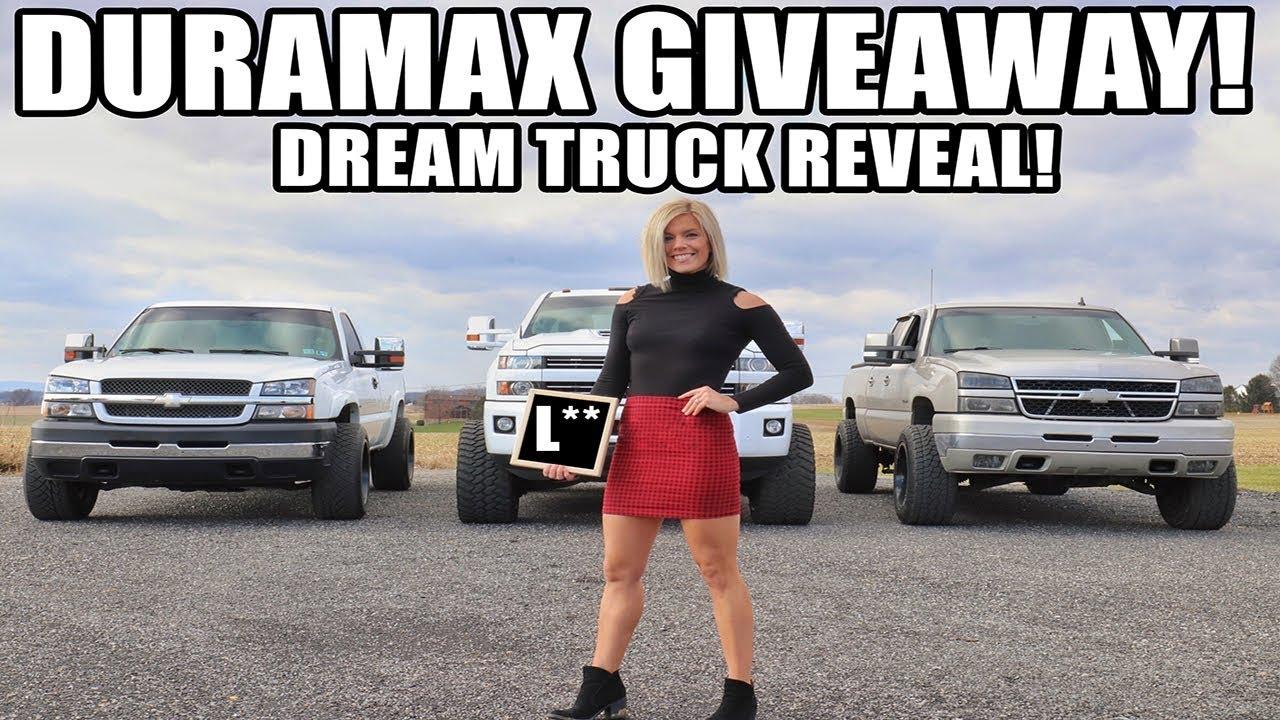 giving-away-one-of-my-duramax-trucks