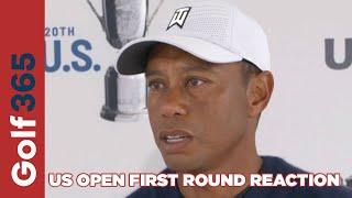 US Open Golf - First Round Reaction