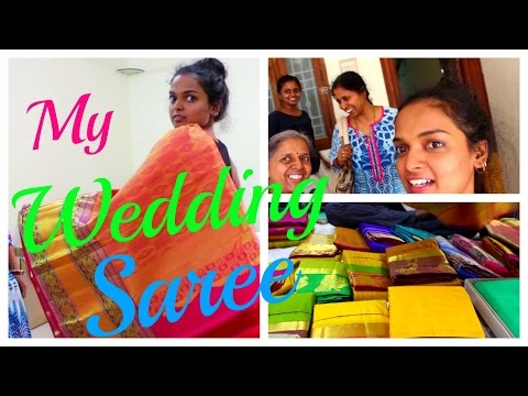 WEDDING SAREE SHOPPING in KANCHIPURAM - VLOG