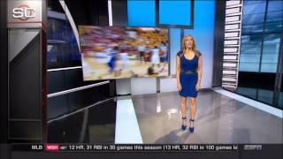 Video Linda Cohn in a Tight Blue Dress & Lindsay Czarniak (ESPN) download MP3, 3GP, MP4, WEBM, AVI, FLV Agustus 2017