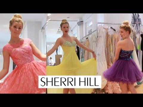 KARtv Sherri Hill Fashion Show Madison Curtis Kendall & Kylie Jenner