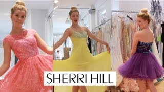 KARtv Sherri Hill Fashion Show Madison Curtis Kendall & Kylie Jenner
