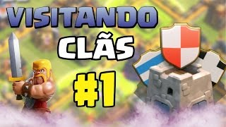 PLAYHARD - VISITANDO CLÃS | CLASH OF CLANS #1