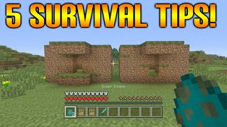 ★Minecraft Xbox 360 + PS3: 5 Cool Survival Tips & Tricks To Help Improve Survival Experience★