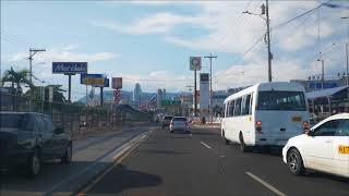 Manejando por Tegucigalpa 2018
