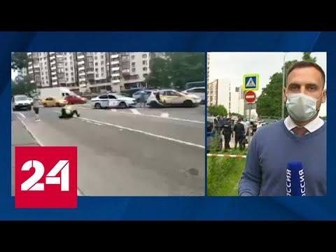 Стрельбу по сотрудникам ГИБДД открыл не водитель, а прохожий - Россия 24
