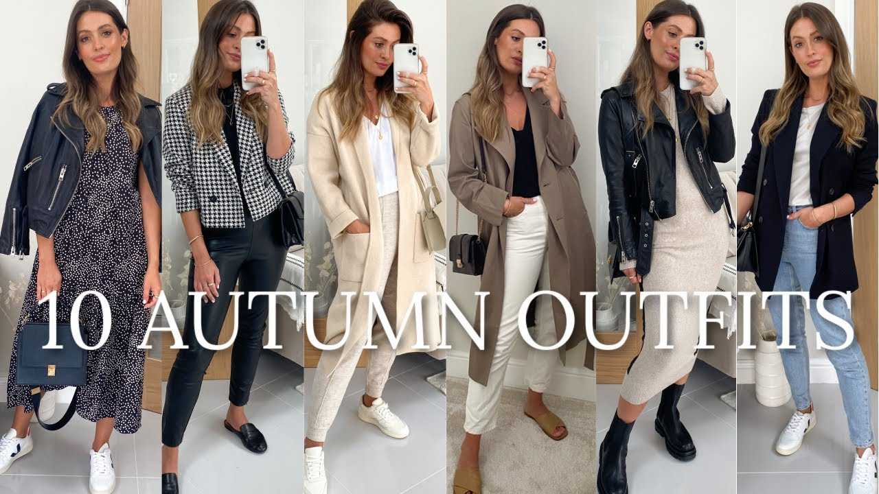 10 AUTUMN OUTFITS - ZARA ASOS MANGO H&M TOPSHOP FALL HAUL