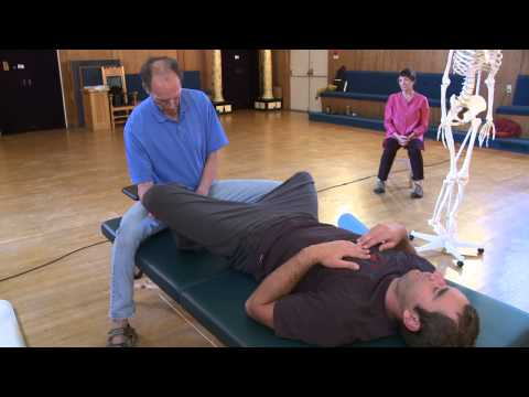 Jeff Haller, Feldenkrais Functional Integration® with Dick, Recovering from ACL surgery