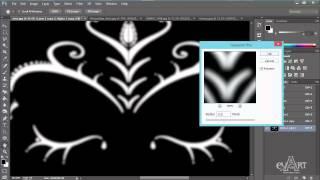Tạo hiệu ứng kim loại cho đối tượng bằng Photoshop Phần 1