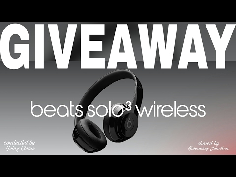 Beats solo 3 wireless headphones giveaway by Living Clean