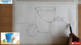 #stilllife  Object drawing for elementary grade student Part 1 | Easy  demo for elementary
