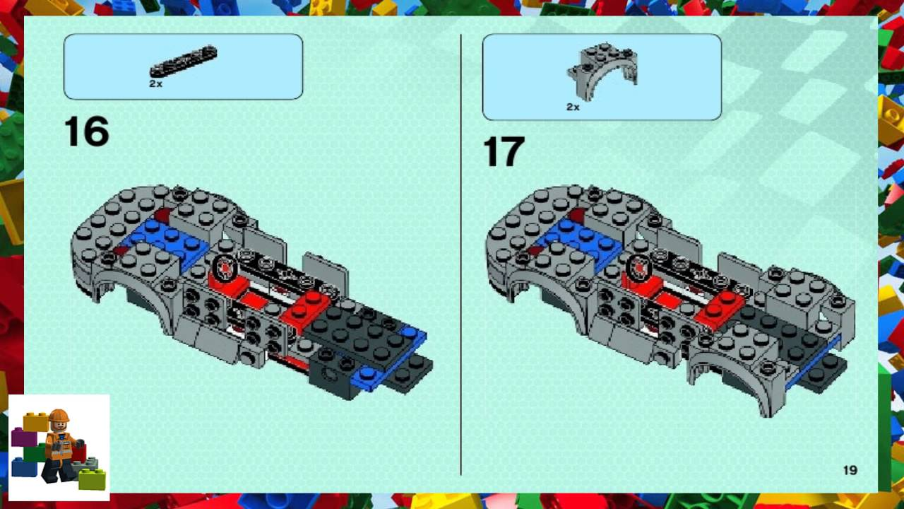 lego porsche 918 instructions