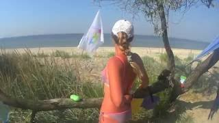 Черное море - Кинбурнская коса - 2016(Черное море - Кинбурнская коса - 2016 (Отдых с палаткой на море), 2016-08-13T20:30:48.000Z)