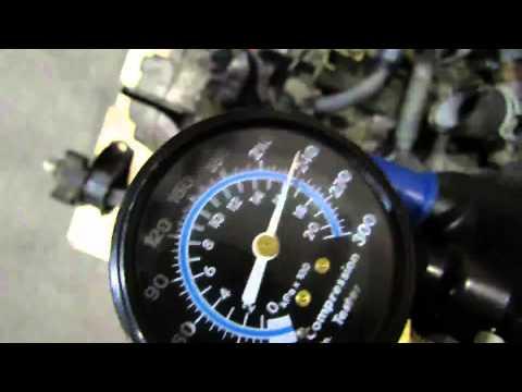 JDM Honda Civic EK9 Type R B16B Engine Compression Test @ JDM Nagoya Auto Parts