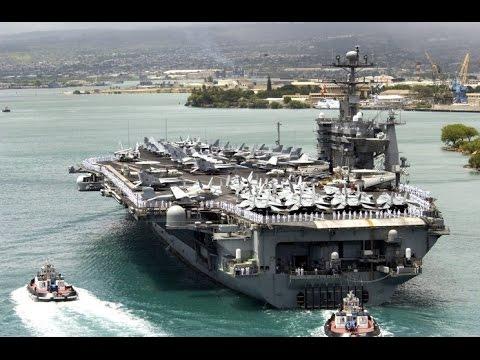 USS John C. Stennis Arrives in Pearl Harbor