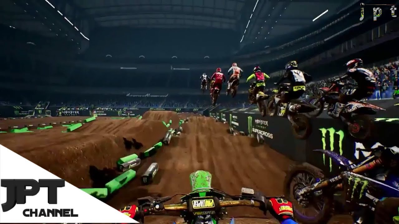 monster energy supercross track editor ps4 xbox one. Black Bedroom Furniture Sets. Home Design Ideas