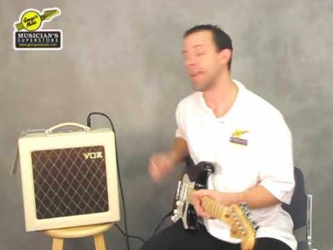 Vox AC4 tube amp - SmallTubeAmp com