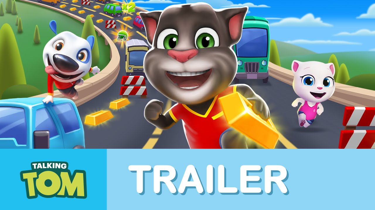 Tom Trailer Talking Tom Gold Run Official Launch Trailer