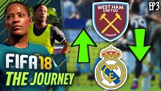 TRANSFER TO REAL MADRID! (FIFA 18 The Journey #3)