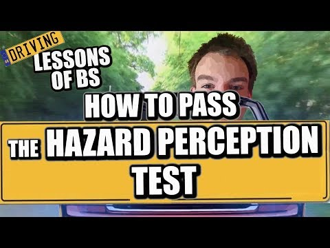 How to Pass Your Hazard Perception Test!