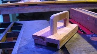 Push Block From Scrap Wood.