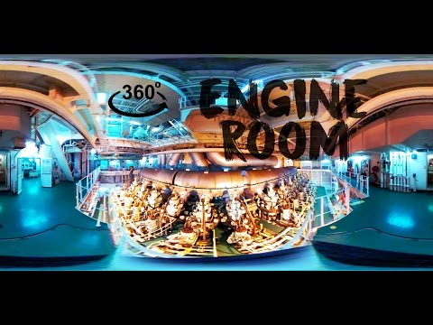 360° Tour of the Entire Engine Room!!