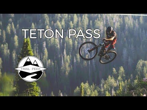 Sending it on Teton Pass! - Mountain Biking Wilson, Wyoming