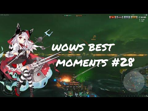 World of Warships Best Moments #28 Twilight Battle Edition