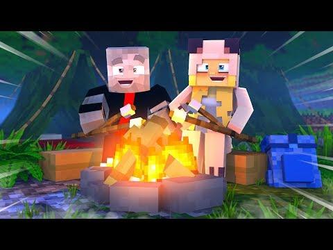 1 TAG LANG ZELTEN MIT ISY ?! - Minecraft [Deutsch/HD]