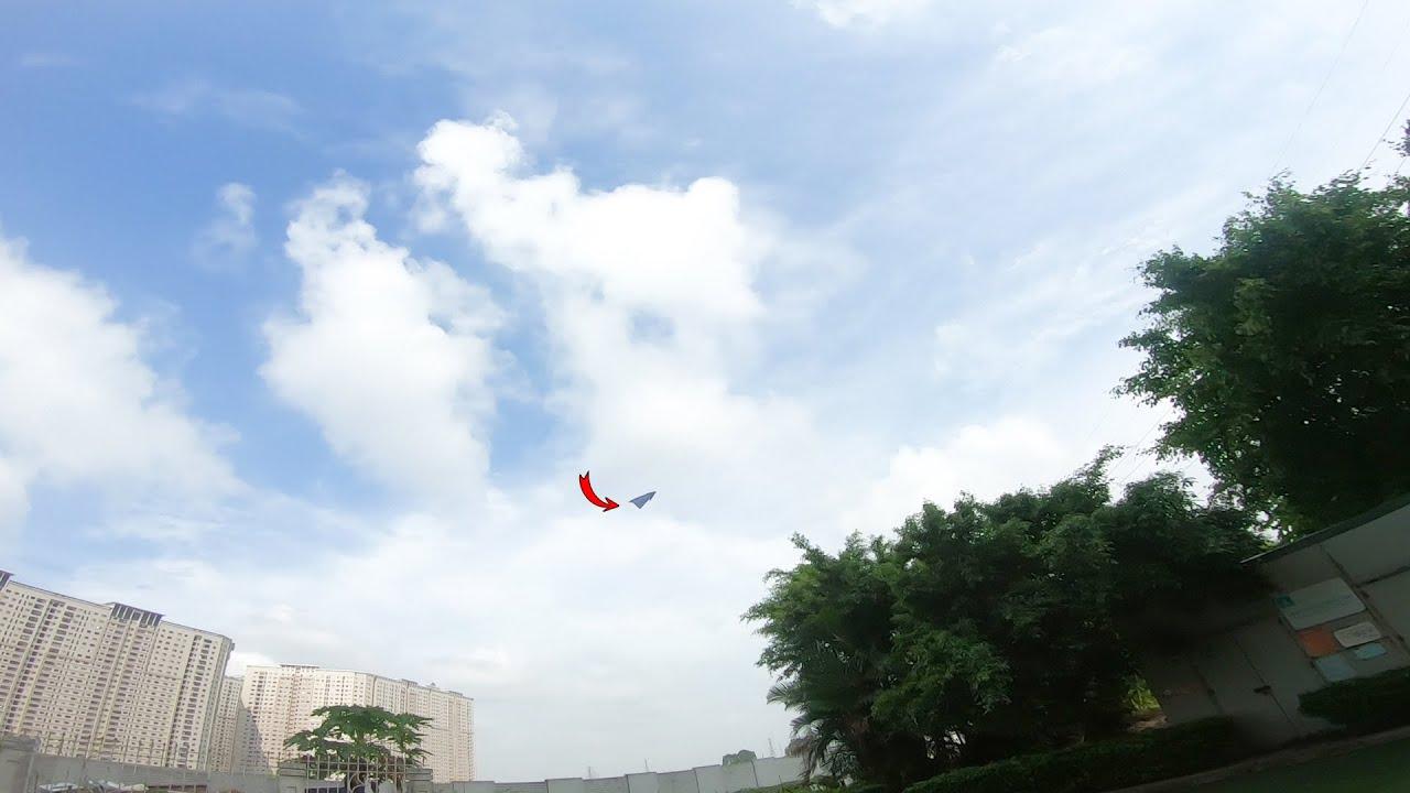 Cách gấp máy bay bay xa và quay trở lại | phuc origami | origami airplane