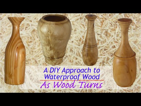 A DIY Approach To Waterproof Wood
