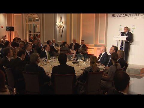 Cena de celebración del 60 aniversario de Europa Press