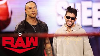 Bad Bunny delivers a message to The Miz: Raw, Mar. 29, 2021