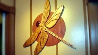 My Intarsia Dragonfly Project (15min)