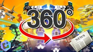 The Greatest Robocraft News Video You'll Ever Watch! (360° VR)