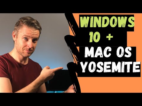 How to Install Windows 10 onto Mac OSX Yosemite using Bootcamp | VIDEO TUTORIAL