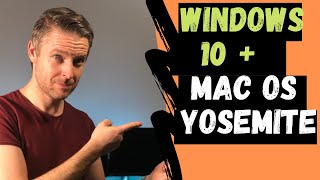 How to Install Windows 10 onto Mac OSX Yosemite using Bootcamp | VIDEO TUTORIAL