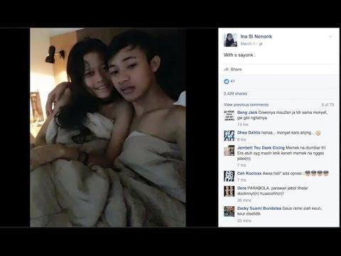 """Perempuan di Foto Akun Facebook """"Ina Si Nononk"""" Ternyata Sudah Menikah dan Memiliki Anak"""